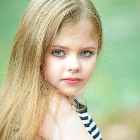 Baby Eyes by Sylvester Fourroux - Babies & Children Child Portraits