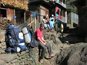 Photo: Lyngve in Jagat village (1250 metres)