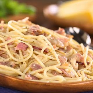 Bacon Spaghetti.
