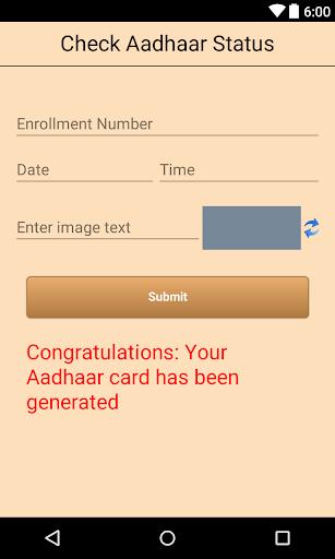 Instant Aadhaar Card screenshot 3