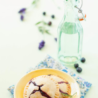 Blueberry Lavender Hand Pies
