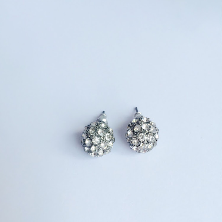 E045 - S. The Witch Glitzy Earrings by House of LaBelleD.
