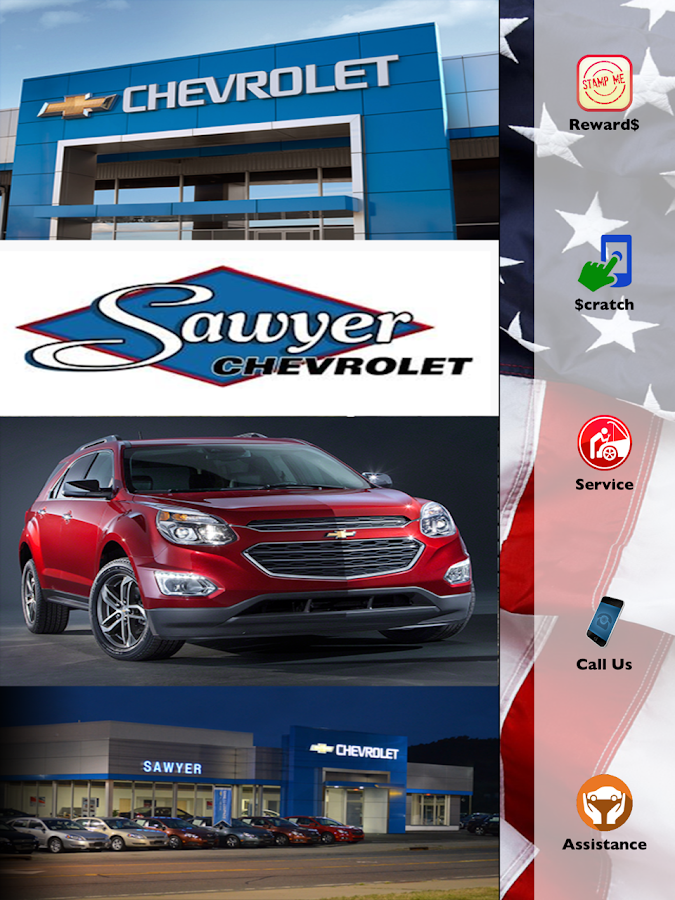 Sawyer Chevrolet- screenshot