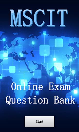 MSCIT Questions