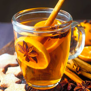 Orange Tea With Spices