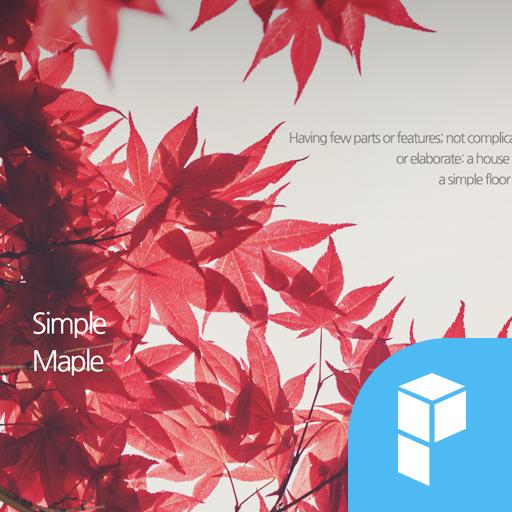Autumn Leaves launcher theme 個人化 App LOGO-硬是要APP