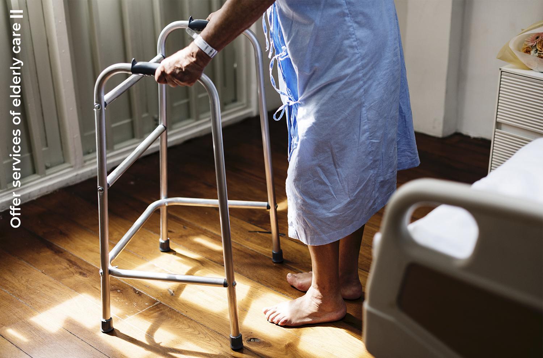 offer services of elderly care