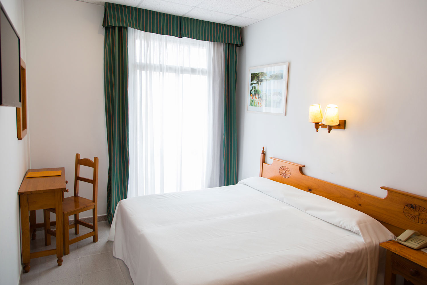 Chambre double usage individuel