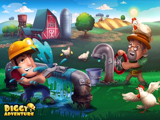 Diggy's Adventure: Fun Logic Puzzles & Maze Escape 1.5.230 screenshots 1