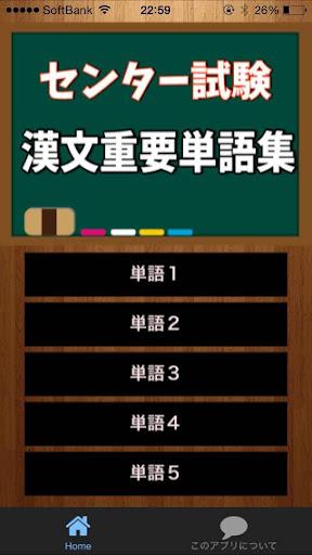 センター試験 漢文重要単語集