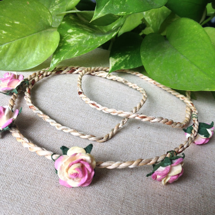 Yellow & Pink Floral Headband by Style Me Pretty
