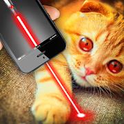 Real laser for cat joke