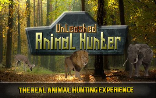 動物狩猟アンリーシュド3D