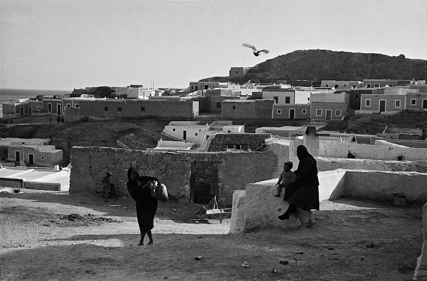 Imagen captada en 1956 de la serie en blanco y negro sobre La Chanca, considerada referencial en su carrera.