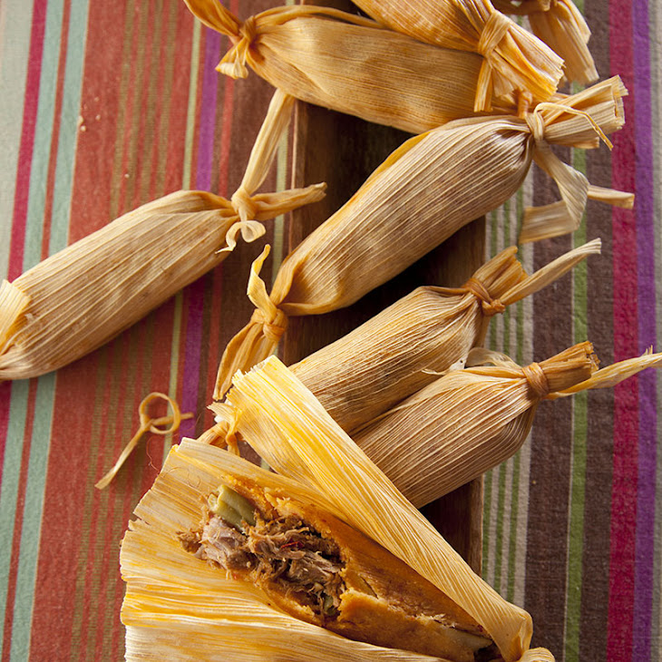Midnight Pork Tamales