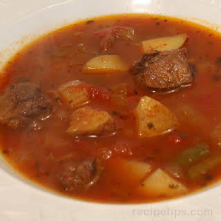 Old Fashioned Vegetable Beef Soup.