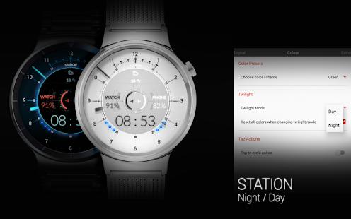 STATION - Watch face Screenshot 13