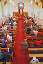 Photo: Gathering at the First Chrristian Church, Macon, Georgia