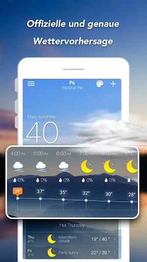 Wettervorhersage & Widgets & Radar screenshot 2