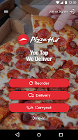 screenshot of Pizza Hut