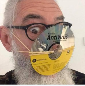 One Users' DIY air pollution anti-virus mask