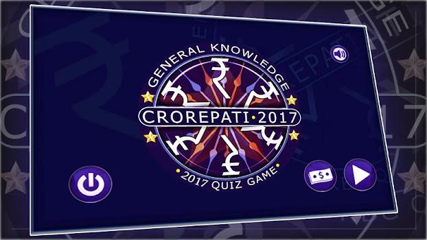 Crorepati 2017 Hindi and English Quiz