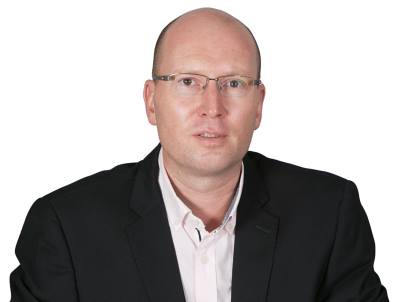 Gerhard Fourie, District Channel Manager for Commvault in South Africa.