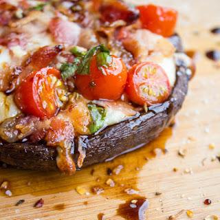 Bacon Caprese Stuffed Portobello Mushrooms Recipe