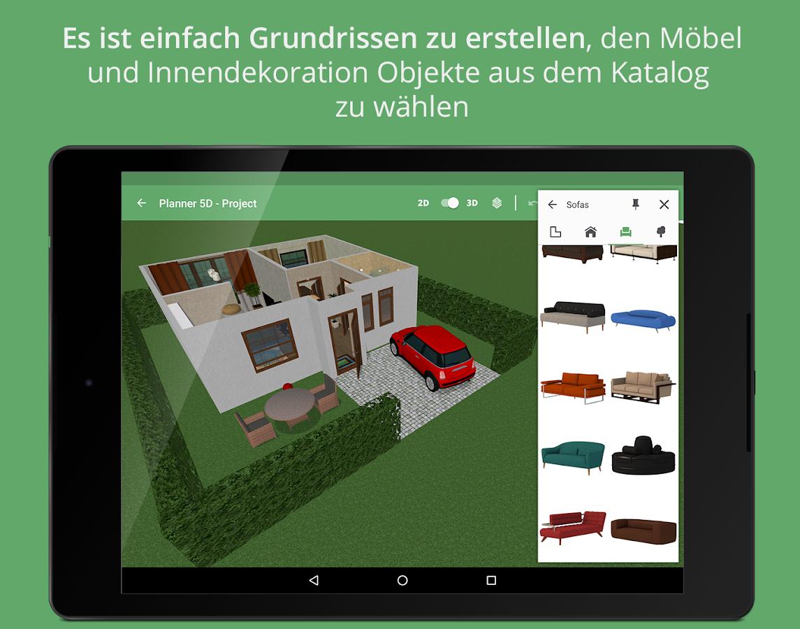 wohnzimmer einrichten simulator : Planner 5d Innenarchitektur Android Apps Auf Google Play