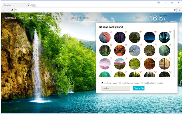 forest wallpaper hd new tab nature themes chrome web store