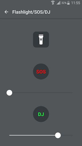 Flash blink on Call, all messages & notifications 8.9 screenshots 8