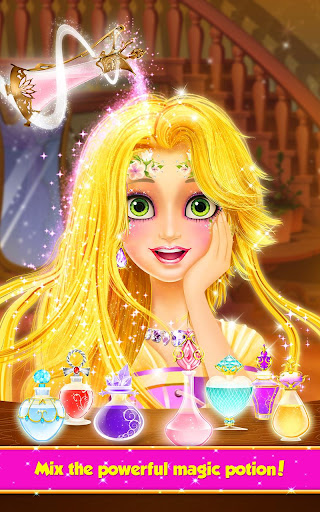Long Hair Princess Hair Salon  screenshots 2