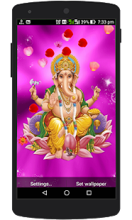 Lord Ganesh Live Wallpaper - náhled