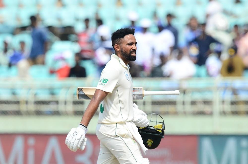 Bekende SA kolfbeurt val in duie wanneer Indië met 1-0 voorsprong neem