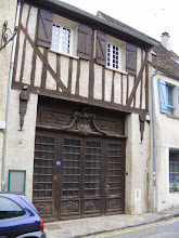 Photo: There is some old half-timbered architecture remaining in town.