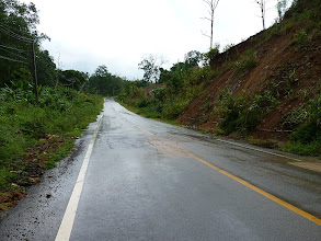 Photo: road Mae Hong Son to Mae Sariang - after heavy rain only light