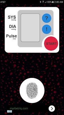 Blood Pressure Checker (Prank) - screenshot