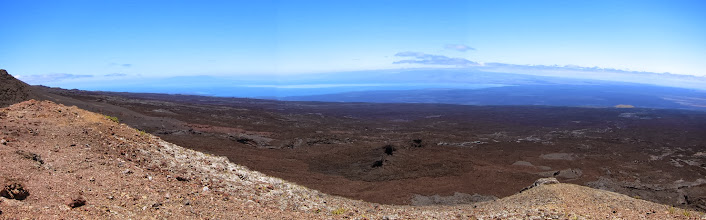 Photo: Panorama from top of Volcan Chico