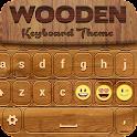 Wooden Keyboard Theme icon