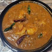 Karaikudi Shrimp Curry