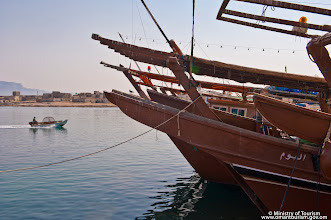 Photo: Dhows in Dibba