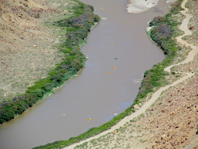 Rafters on the Green River