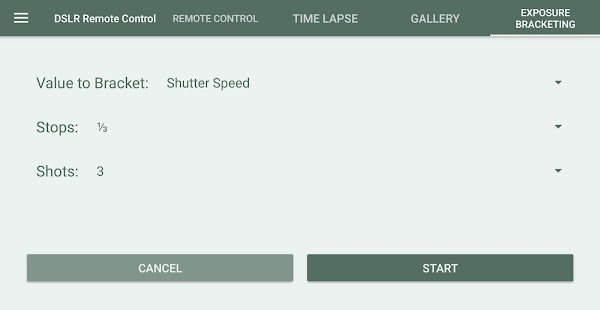 DSLR Control - Camera Remote Controller Screenshot