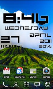 Super Clock Wallpaper Pro 2.0.2 Mod APK Updated Android 2