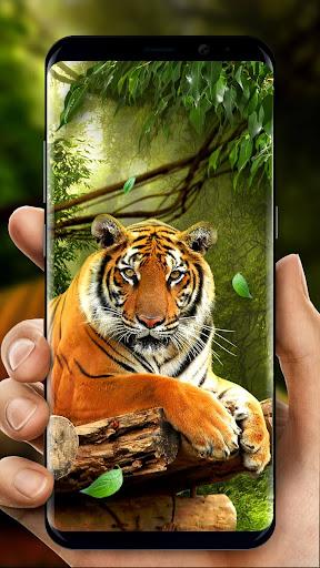 Moving Tiger Live Wallpaper screenshots 1