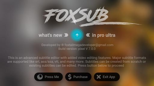 Download Foxsub Subtitle Editor Free For Android Foxsub Subtitle Editor Apk Download Steprimo Com