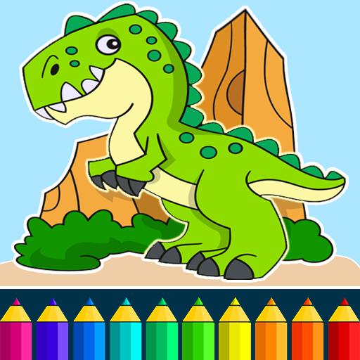 恐龍的顏色遊戲 教育 App LOGO-硬是要APP