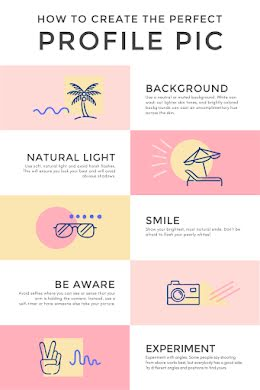 The Perfect Profile Pic - Pinterest Pin item