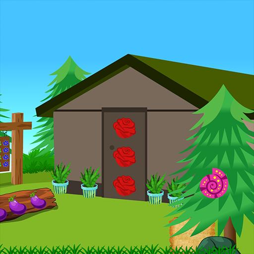 Best Escape Games 175 Naughty Pink Rabbit Rescue screenshot 1