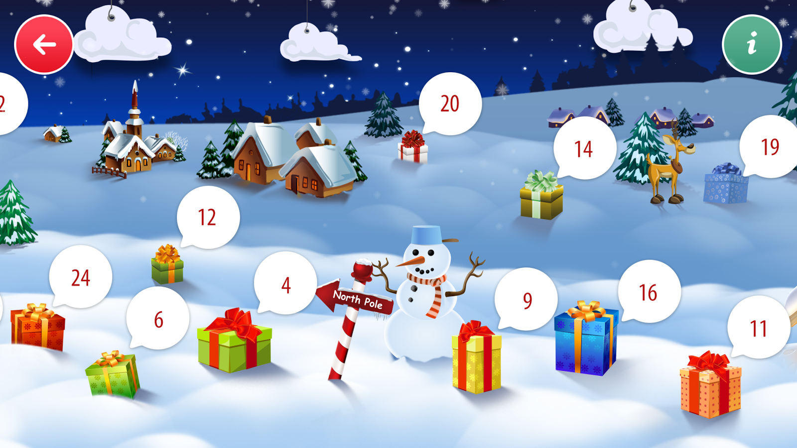 Spielwaren-Adventskalender- screenshot
